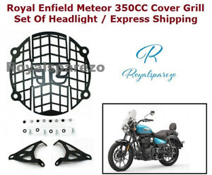 Royal Enfield Meteor 350CC Cover Grill Set Of Headlight