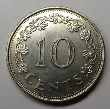 Malta 10 Cents 1972 Copper-Nickel KM#11 UNC