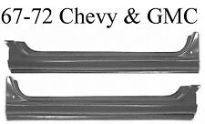 67 72 Chevy GMC Extended Rocker Set 1.2MM Thick Left & Right Sides Included