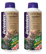 2 x 450g CANE / GATTO dispersione granuli REPELLENTE Repeller deterrente scoraggiare STV616