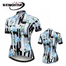 Cycling Jersey Women Riding Bike Sportwear Bicycle Short Sleeve Clothing Tops