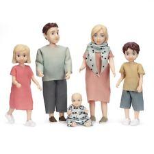 Lundby 60.8076 - DOLLS SET CHARLIE - Familie Mann Frau und Kinder 1:18