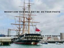 mp163 - HMS Warrior at Portsmouth - photo 6x4
