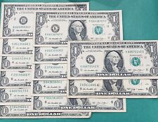 Random Fancy 666 Rare Serial Number $1 Bill Note Currency! 3 Consecutive 6's!