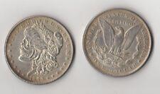 Fantasy Issue Novelty Coin 1893 o Morgan Dollar W/ Skull Zombie Head