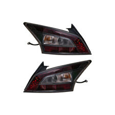 2009-2014 Nissan Maxima Right & Left Black Tint Tail Lights Set OEM NEW Genuine