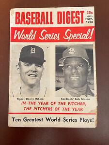 October/November 1968 Baseball Digest