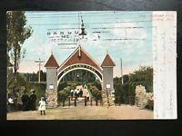 Vintage Postcard>1907>Highland Park>Brockton>Massachusetts