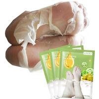 efero 1-10Pair Foot Peeling Mask Exfoliating Socks Feet Care Dead Skin Whitening
