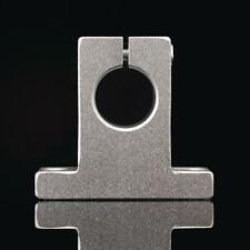 2pcs 35mm Sk35 Chrome Linear Rail Shaft Guide Support Bracket Bearing Step Motor
