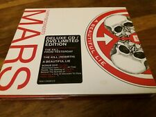 30 Seconds To Mars A Beautiful Lie Rare Deluxe 2 Disc CD & DVD Thirty Bonus