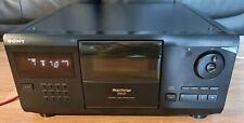 Sony CDP-CX200 200 DISCO CAMBIADOR CD PLAYER Juke Box Estéreo HiFi separados