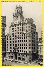 cpsm Tarjeta SPAIN MADRID Gran via Palacio EDIFICIO TELEFONICA Gratte Ciel
