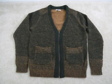 "Wallace & Barnes ""sample"" zip cardigan Green Medium NWOT!"