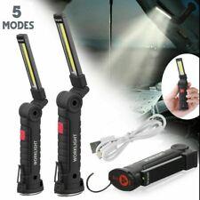1000LM COB LED KFZ Arbeitsleuchte Magnet Akku Werkstattlampe Handlampe Stablampe