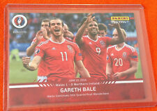 2016 Panini Instant GARETH BALE Wales EURO CUP Red #53 (Print Run /59 Made)