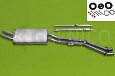 Silencieux arrière Echappement kit de montage BMW 3 E30 320 325 2.0-2.7 85-93