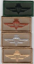 4 mixed dealers lot Lithuanian para wing  patch