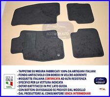 Tappetini Moquette Auto Specifici per Alfa Mito 2008>2013 tappeti set no logo