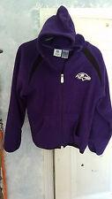 NFL Baltimore Ravens Youth Zip up Hoodie Medium 10/12 USED