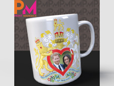 Prince Harry and Meghan Markle Royal Wedding Commemorative Mug HRH