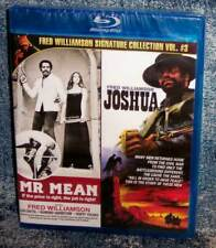 NEW RARE OOP CODE RED FRED WILLIAMSON MR. MEAN & JOSHUA DOUBLE FEATURE BLU RAY