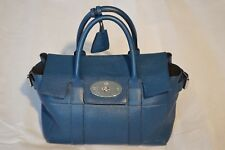 Mulberry Blue Buckle Bayswater Leather Womens Small Shoulder Handbag