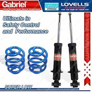Rear Super Low Gabriel Ultra Shocks + Lovells Springs For Holden Statesman WM