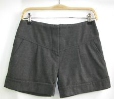 Bel air-short shorts grey wool stanley model t 1 = 36-like new