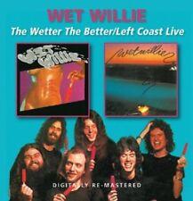 Wet Willie - Wetter the Better / Left Coast Live [New CD] UK - Import