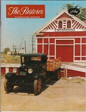 1931 Ford AA truck  - The Restore Car Magazine, Santa Fe railway station, Ca USA