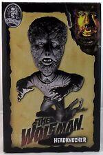 NECA Universal Monsters Head Knockers The Wolfman Black & White Version