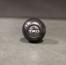 NEW LEATHER TRD BALL TYPE SHIFT KNOB MR2 AW11 SW20 AE86 KP61 STARLET TACOMA