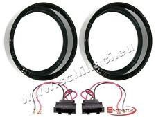 Adattatori altoparlanti Casse 200 mm +  per VolksWagen VW Sharan 2 / T5 portiere