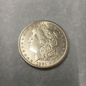 1 $ USA / Amerika Morgan-Dollar 1881 S Silber