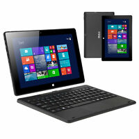 "iRULU  10.1"" Walknbook 2-in-1 Windows10 Quad Core Intel 2GB/32GB 1.83GHz Tablet"
