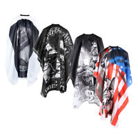 Hairdressing Salon Barber Water-proof Hair Cutting Styling Gown Cloth Cape