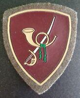 RARA Toppa/Patch/Scudetto  in stoffa Orig. Bersaglieri  Esercito Italiano