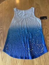 NWT a.n.a Sequin Tank Top size XS