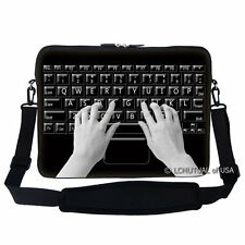 "15.6"" Laptop Computer Sleeve Case Bag w Handle & Shoulder Strap Asus Acer 2911"