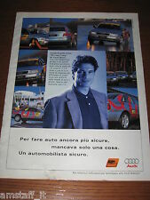*AN97= AUDI A4 =PUBBLICITA'=ADVERTISING=WERBUNG=COUPURE=