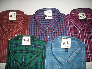 Saddlebred Big & Tall Long Sleeve Woven Shirt. New With Tag. MSRP $40.00