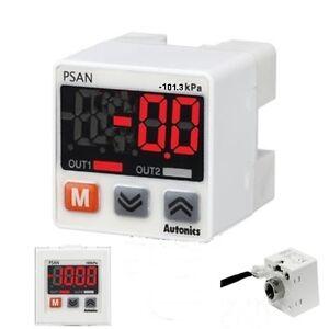 Air Negative Vacuum Pressure Sensor Switch PNP open 4-20mA current output