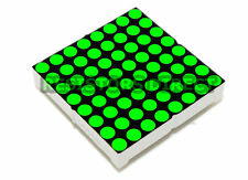 2pcs 8x8 3mm Green LED Matrix Display Common Anode for Arduino / Raspberry Pi