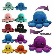 Octopus Plüschtier Doppelseitiges Kuscheltier Stimmung Mood TikTok Puppe Doll
