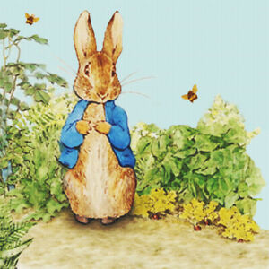 Beatrix Potter Peter Rabbit and the Bees Counted Cross Stitch Pattern