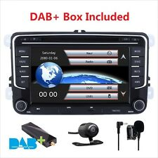 "7""Car Stereo DAB+ Radio DVD SatNav GPS For VW Golf MK5 MK6 Passat Transporter T5"