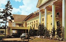 # M3008   YELLOWSTONE NATIONAL PARK   POSTCARD,  LAKE HOTEL