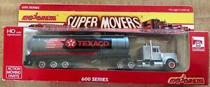 Majorette Super Movers Texaco Tanker Truck 600 Series Kenworth
