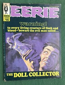 Eerie #15 Warren Pub Silver Age Monster mag creepy horror scary vg/f